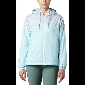 COLUMBIA Plus FLASH FORWARD windbreaker Rain  3x